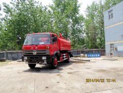 东风平头8吨消防洒水车