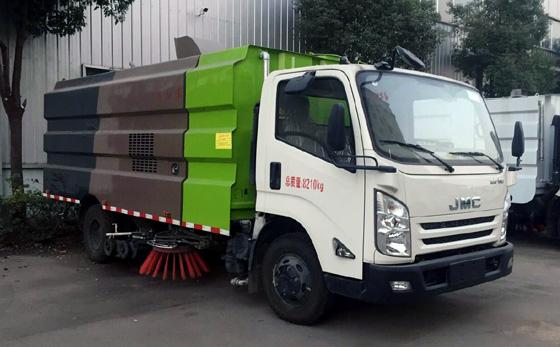 HYS5080TXSJ5型洗扫车