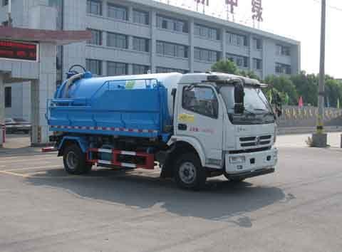 XZL5110GQX5E型下水道疏通清洗车