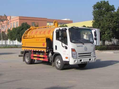 SZD5082GQWCG5型清洗吸污车