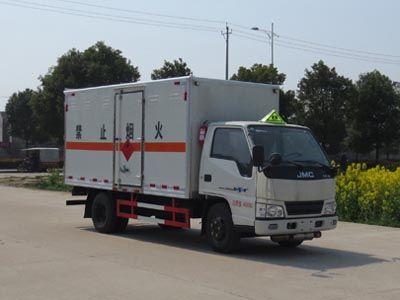 JDF5041XRYJ5型易燃液体厢式运输车