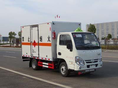 JDF5030XRYNJ5型易燃液体厢式运输车