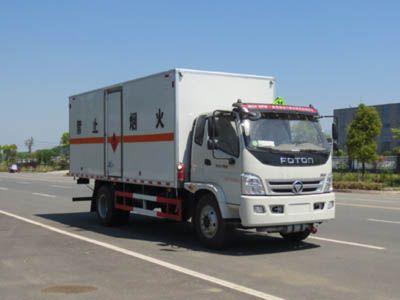 JDF5160XRYB5型易燃液体厢式运输车