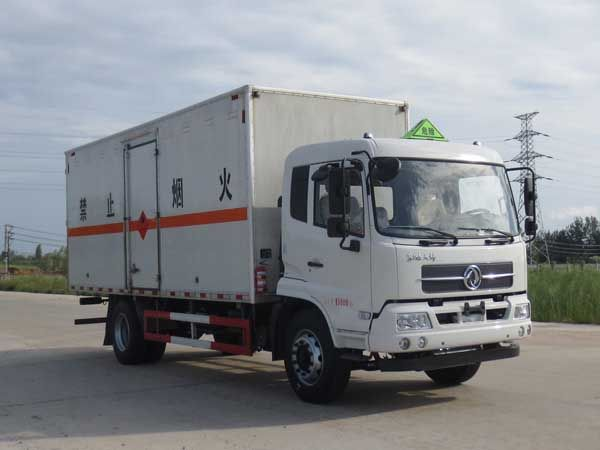 JDF5160XRYDFH5型易燃液体厢式运输车