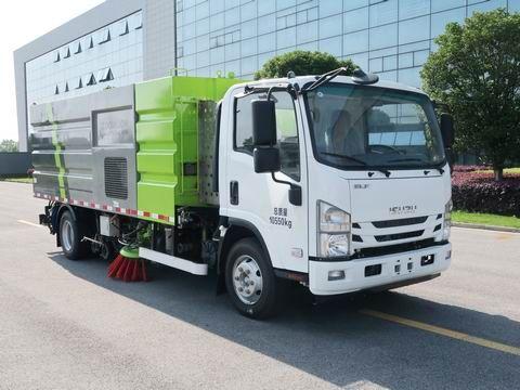 ZBH5110TXSQLE6型洗扫车